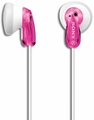 MDRE9LP/PNK Sony Stereo Fashion Earbuds with Super-Light Design - Pink