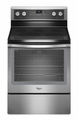 WFE710H0AS Whirlpool 6.2 Cu. Ft. Electric Range withTrue Convection Cooking - Stainless Steel