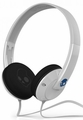 S5URDY238 Skullcandy Uprock On-Ear Headphones with Built-in Microphone - White/Blue