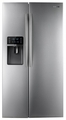 RSG307AARS Samsung 29.6 Cu. Ft. Side-by-Side Refrigerator With Thru-the-Door Ice and Water - Stainless Steel