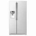 RS265TDWP Samsung 26 Cu. Ft. Side by Side Refrigerator with Dispenser - White