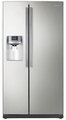RS261MDPN Samsung Side by Side Refrigerator Ice and Water Dispenser - Stainless Platinum