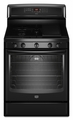 MGR8880AB Maytag 5.8 Cu. Ft. Gas Range with EvenAir True Convection + Power Preheat - Black