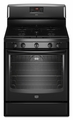 MGR8775AB Maytag 5.8 Cu. Ft. Gas Range with EvenAir Convection - Black