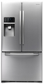 RFG296HDRS Samsung 29 Cu. Ft. French Door Refrigerator with Dual Ice Maker - Stainless Steel