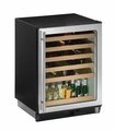 1075WCS-00 U-Line 1000 Series Undercounter 48 Bottle Wine Captain - Field Reversible - Stainless Steel