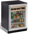 1075BEVS-00 U-Line 1000 Series Undercounter Beverage Center Field Reversible - Stainless Steel