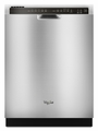 WDF530PAYM Whirlpool Dishwasher with Resource-Efficient Wash System - Monochromatic Stainless Steel