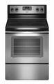 WFE510S0AS Whirlpool 4.8 Cu. Ft. Electric Range with Self Cleaning System - Stainless Steel