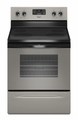 WFE510S0AD Whirlpool 4.8 Cu. Ft. Electric Range with Self Cleaning System - Universal Silver