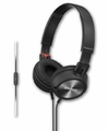 MDR-ZX300AP Sony Over the Head Stereo Headphones with In-Line Cell Phone Mic