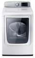 DV50F9A6GVW Samsung 7.4 cu. ft. Capacity Gas Front Load Dryer - Neat White