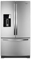 WRF989SDAM Whirlpool (R) 29 cu. ft. French Door Refrigerator with the Most Fresh Food Capacity Available - Stainless Steel