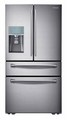 RF31FMESBSR Samsung 31 cu. ft. 4-Door Refrigerator with Automatic Sparkling Water Dispenser - Stainless Steel