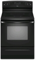 "AER5830VAB Amana 4.8 Cu. Ft. Electric 30"" Self-Cleaning Range - Black"