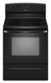 "AER5823XAB Amana 4.8 Cu. Ft. 30"" Electric Range - Black"
