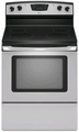 "AER5830VAS Amana 4.8 Cu. Ft. Electric 30"" Self-Cleaning Range - Stainless Steel"