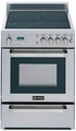 "VEFSEE244PSS Verona 24"" Self Cleaning Electric Range - Stainless Steel"