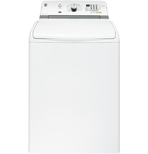 GTWN7450DWW GE 4.6 Cu. Ft. Capacity Washer with Stainless Steel Basket - White