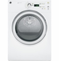 GFDN120EDWW GE 7.0 Cu. Ft. Super Capacity Electric Dryer - White