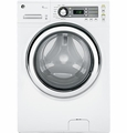 GFWS1500DWW GE ENERGY STAR 4.0 DOE Cu. Ft. Capacity Frontload Washer with Steam - White on White