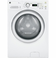 GFWH1200DWW GE ENERGY STAR 3.6 DOE Cu. Ft. Capacity Frontload Washer - White on White