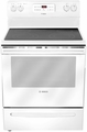 "HES3023U Bosch 30"" Evolution 300 Series Freestanding Electric Range - White"