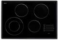 "MET304SF Dacor Discovery 30"" Electric Glide Cooktop - Black with Satin Trim"