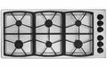 "SGM466SLP Dacor Classic 46"" All-Gas 6 Burner Cooktop - Stainless Steel, Liquid Propane"