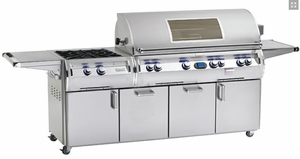 E1060S4E1P51 Fire Magic Echelon Diamond LP Grill with Cabinet and Power Burner - Stainless Steel