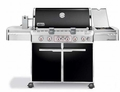 7371001 Weber Summit E-670 Liquid Propane Grill - Black