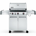 6570001 Weber Genesis S-330 Liquid Propane Grill - Stainless Steel