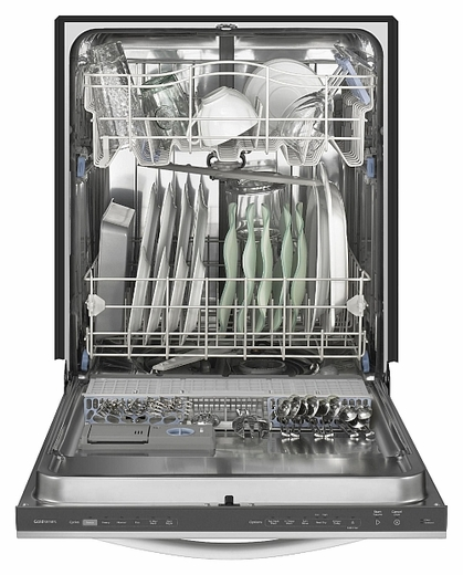 WDT790SAYM Whirlpool Gold� Series Dishwasher with Top Rack Wash Option - Monochromatic Stainless Steel