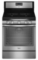 WFG540H0AS Whirlpool 5.8 cu. ft. Capacity Gas Range with AquaLift Self-Clean Technology - Stainless Steel