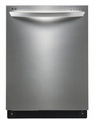 LDF8072ST LG Fully Integrated Dishwasher Flexible Easy Rack Plus System - Stainless Steel