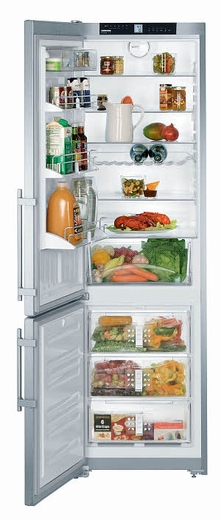 "CS1311L Liebherr 24"" Freestanding Semi-Built In Cabinet Depth Refrigerator - Left Hinge - Stainless Steel"