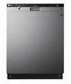 LDS5540ST LG Semi-Integrated Dishwasher with Flexible EasyRack Plus System - Stainless Steel