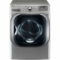 DLEX8000V LG 9.0 Cu. Ft. Mega Capacity Electric Dryer with Steam Technology - Graphite Steel