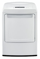 DLE1101W LG 7.3 cu. ft. Ultra Large Capacity Dryer with Sleek Contemporary Design (Electric) - White