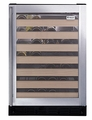 ZDWR240PBS GE Monogram Undercounter Wine Reserve LED Display - Stainless Steel