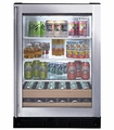 ZDBR240PBS GE Monogram Undercounter Beverage Center LED Display - Stainless Steel