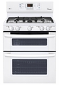 LDG3035SW LG 6.1 Cu. Ft. Capacity Gas Double Oven Range with SuperBoil Burner and EasyClean - White