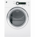 "DCVH480EKWW GE 24"" Electric Dryer - White"