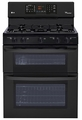 LDG3035SB LG 6.1 Cu. Ft. Capacity Gas Double Oven Range with SuperBoil Burner and EasyClean - Black