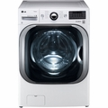 WM8000HWA LG 5.1 Cu. Ft. Mega Capacity TurboWash Front Load Washer with Steam Technology - White