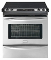 "FGES3045KF Frigidaire Gallery 30"" Slide-In Electric Range with Ceramic Smoothtop - Stainless Steel"