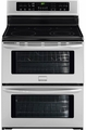 "FGEF302TNF Frigidaire Gallery 30"" Freestanding Electric Double Oven Range - Stainless Steel"
