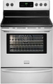 "FGEF3032MF Frigidaire Gallery 30"" Freestanding Electric Range with Easy Temp Probe - Stainless Steel"