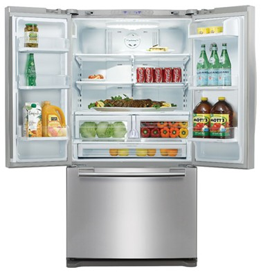 RFG293HARS Samsung 29 cu. ft. French Door Refrigerator - Stainless Steel