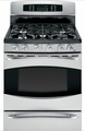 "P2B930SETSS GE Profile 30"" Free-Standing Dual Fuel Gas Range with Baking Drawer - Stainless Steel"